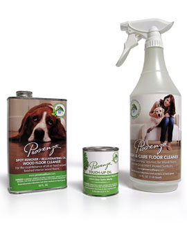 Provenza Natural Floor Care Solutions for Oil Finished Hardwood Flooring